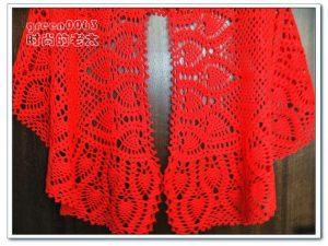Capas tejidas a crochet