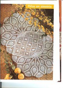 Carpetas en crochet patrones