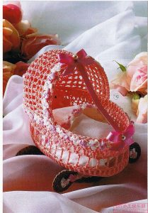 Crochet adorno