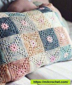 Almohadon Crochet Motivo