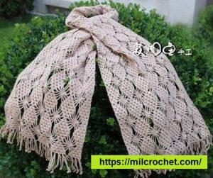 Bufanda de crochet